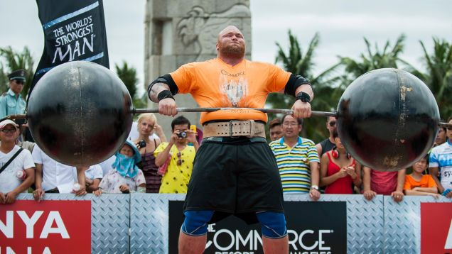 Hafþór Björnsson Says He Was Robbed Of Worlds Strongest Man Title