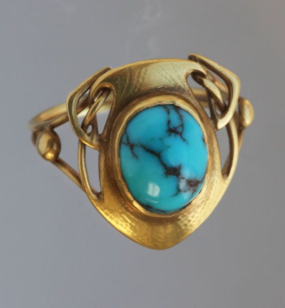 LIBERTY & CO<br>Art Nouveau Ring by ARCHIBALD KNOX - Tadema Gallery