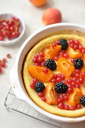 Gluténmentes tejpite nyári gyümölcsökkel nem csak gluténérzékenyeknek!