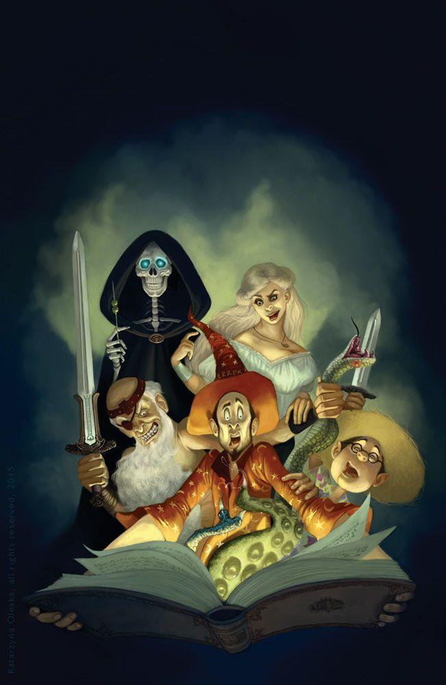 The Light Fantastic cover by Katarzyna Oleska