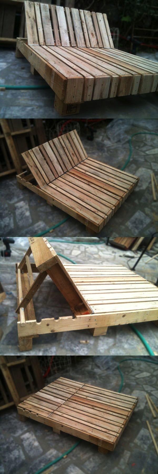 Palety sú skvelým recyklačným materiálom pre domácich kutilov. So správnym ošetrením dreva môžu akékoľvek palety vyzerať dobre. Stačí už len pridať matrac, vankúše a posteľ je hotová. Je to super aj ako dočasné riešenie...