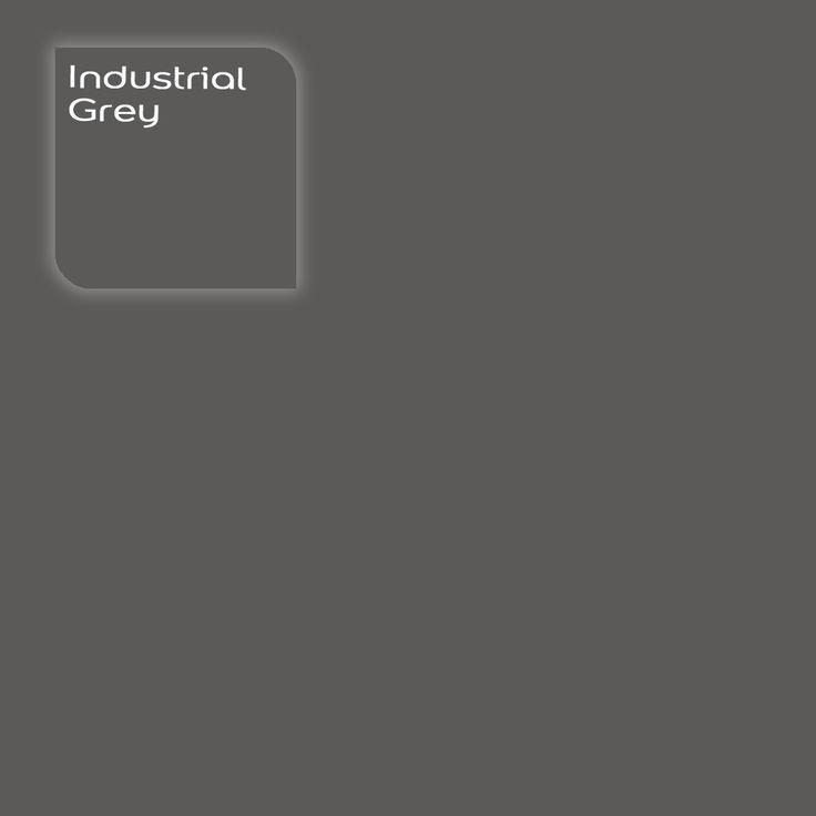 Flexa Creations kleur: Industrial Grey. Klik op de foto om een Flexa Kleurtester in deze kleur te bestellen. Vooraf de kleur op de muur in je kamer zien geeft vertrouwen.