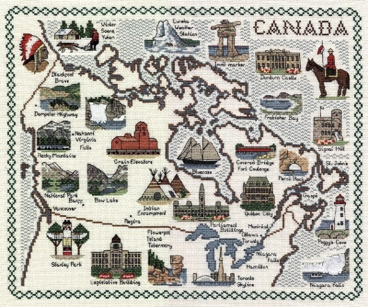 Best Cross Stitch States Countries Images On Pinterest - Us map patterns
