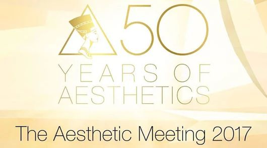 "Pleased to be attending The Aesthetic Meeting 2017 ""Education, Connections, and Inspiration"" held in San Diego, California, San Diego Convention Center later this week April 27 - May 2."