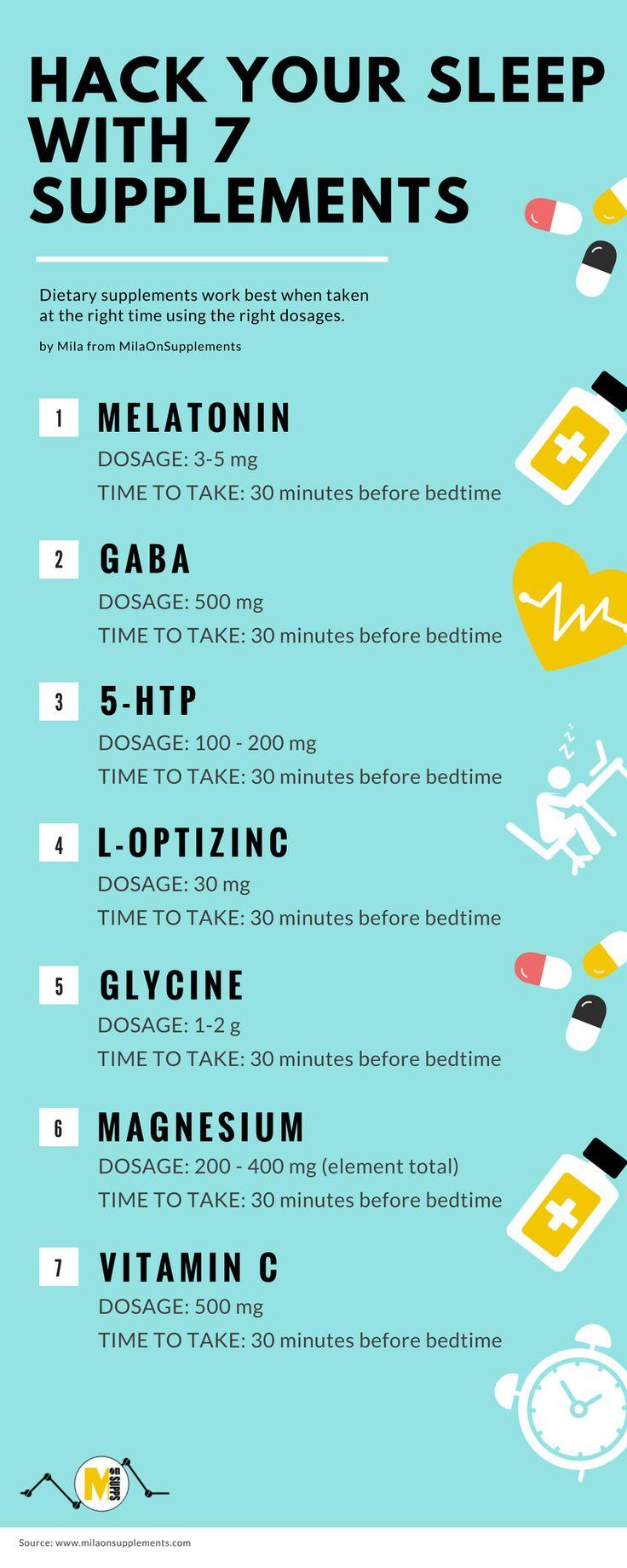 Hack Your Sleep With The Sleep Supplements Stack