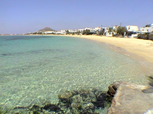 Naxos - Aghia Anna beach