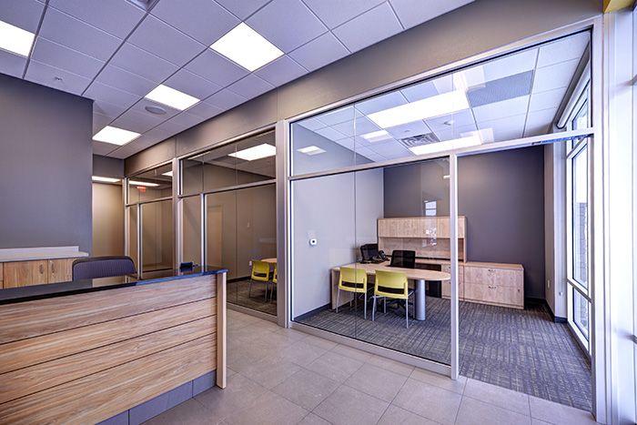 Abra Body Shop >> Auto Body Shop Office Design Abra Office Corridor