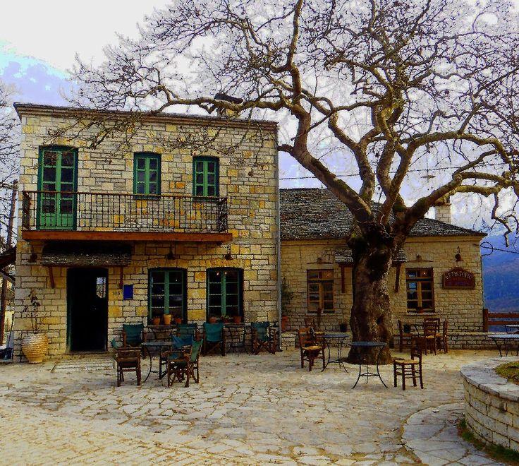 Παραδοσιακο καφενειο στο χωριο Αριστη-Δ.Ζαγορι Πηγη:ART TRAVEL