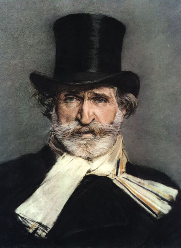 Portrait of Giuseppe Verdi (1886) by Giovanni Boldini - National Gallery of Modern Art and Contemporary, Rome. — Wikipédia
