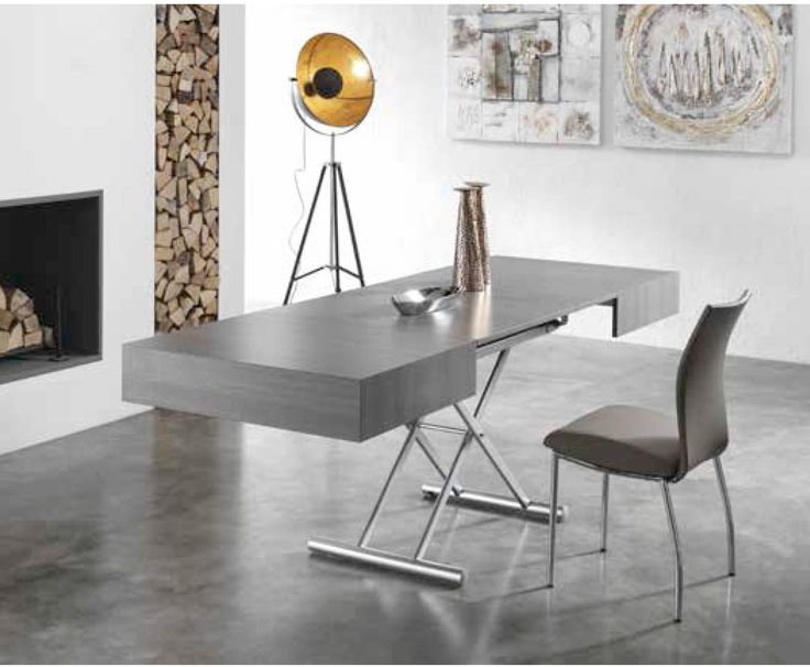 Italian dining extendible coffee and dining table Pro, available in wh at My Italian Living Ltd