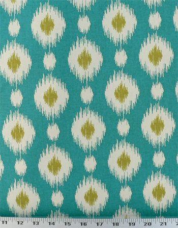 Drapery Fabric, Upholstery Fabric, Ikat Fabric, Southwestern, Dots, Fabric By…
