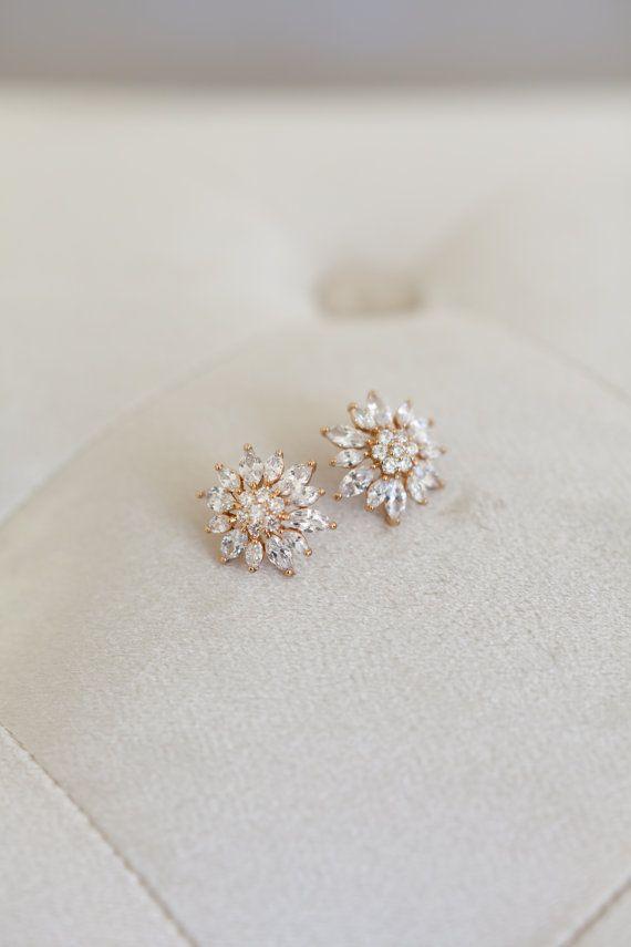 Vintage Orecchini Sposa, orecchini di nozze d