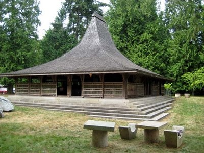 Tea House on Vashon Island