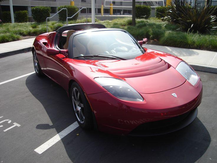 2008 Tesla roadster électrique « TeslaRoadsterfront » par