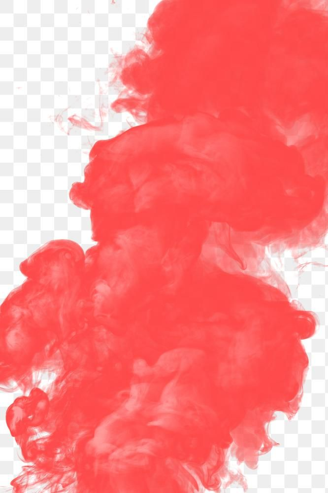 Coral Red Smoke Effect Design Element Free Image By Rawpixel Com Winn Red Smoke Design Element Abstract Cloud