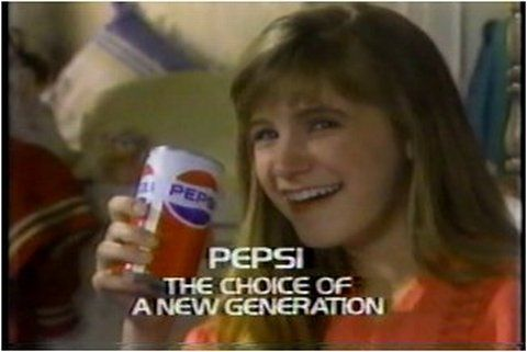 The tone is that Pepsi is the authority on cool and they know what people want. If you don't choose Pepsi as well, then you must be the old generation. This is the new thing - using fear of not fitting in to push people into buying product.