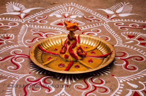 Sri in a bengali wedding