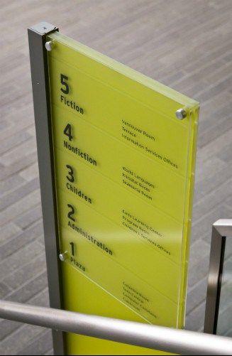 Vancouver library       #librarywayfinding #wayfinding