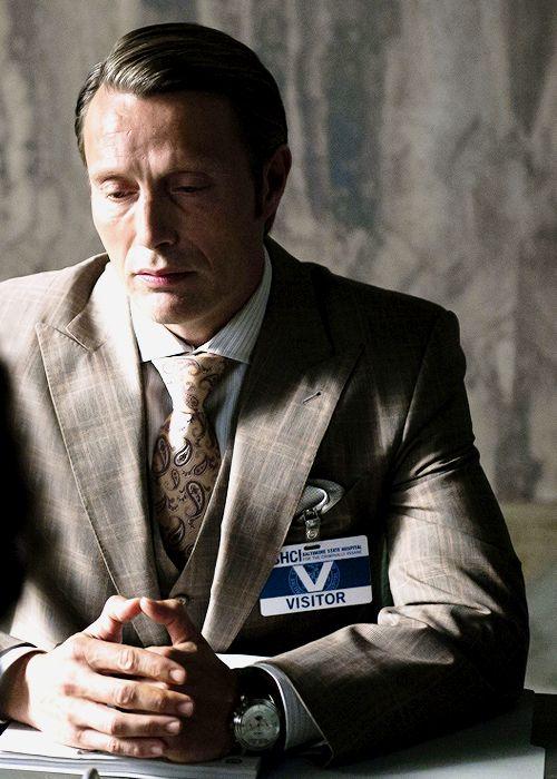 Mads Mikkelsen in Hannibal S2