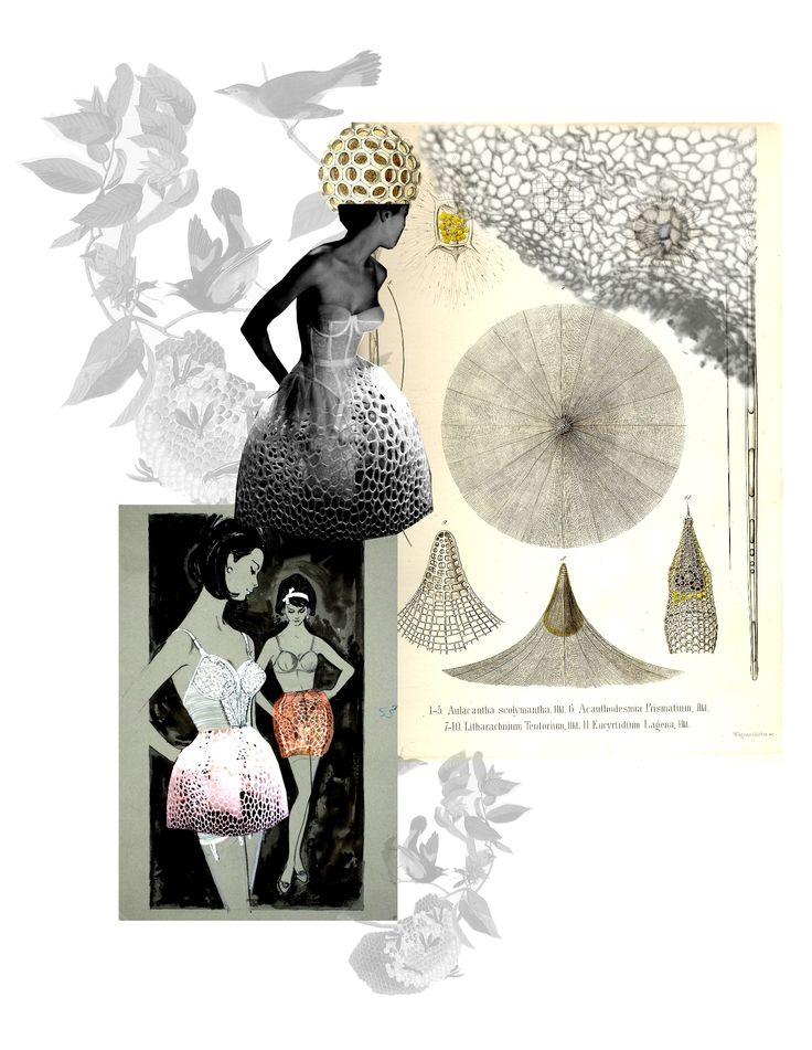 honeycomb dress ,dolhescu sabina