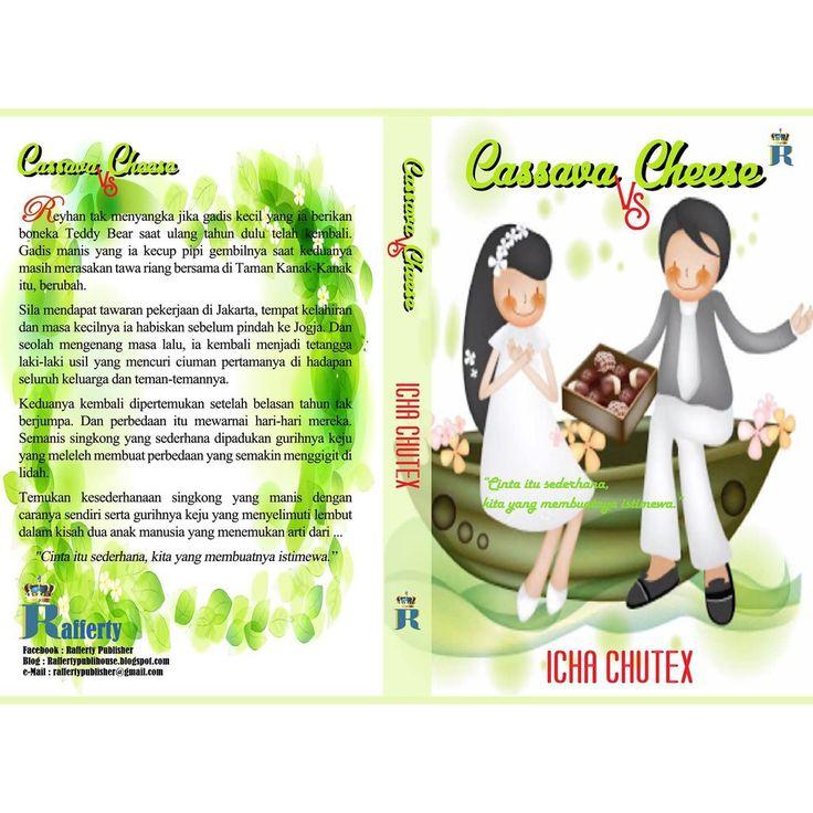 Saya menjual CASSAVA VS CHEESE  by Icha Cutex + Bonus Tas Serut