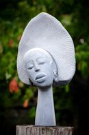 ►►► queen ~~~  A sculpture found at  ZimArt, Rice Lake Gallery. Found south of Peterborough, this beautiful gallery features original Zimbabwean art in an annual outdoor exhibition during August.