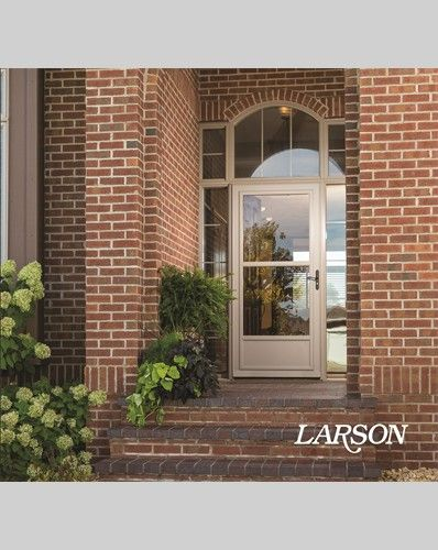Keep An Entrance Classic With Lots Of Glass And A Midview