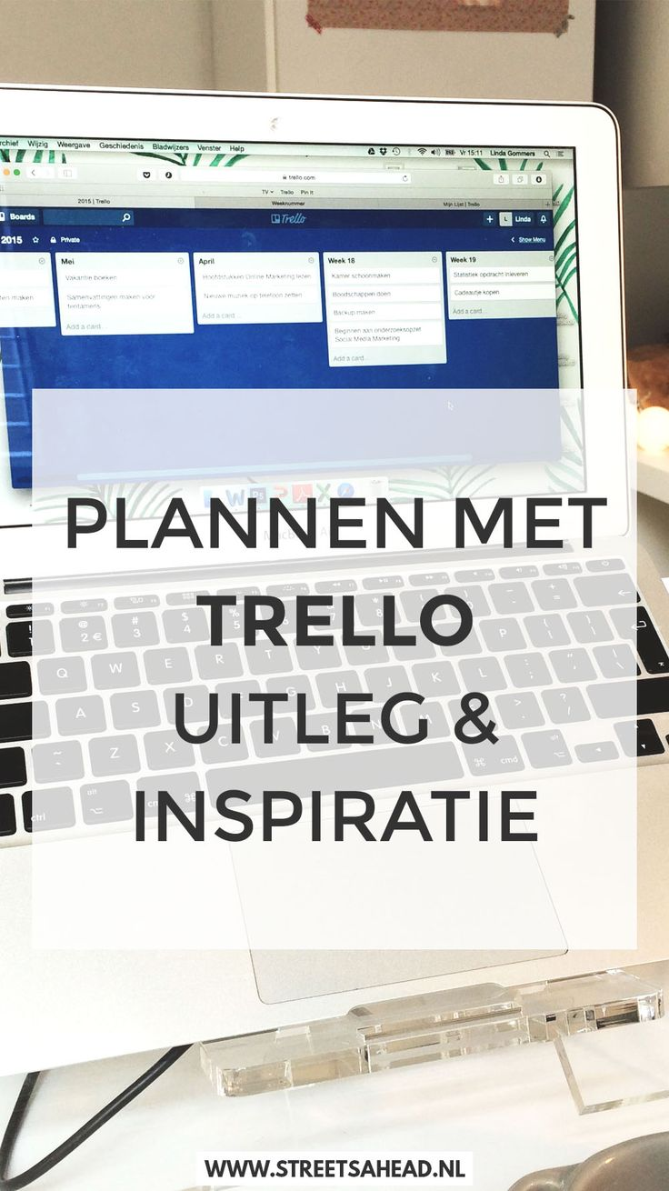 Plannen Met De App Trello Wat Is Het En Hoe Werkt Het