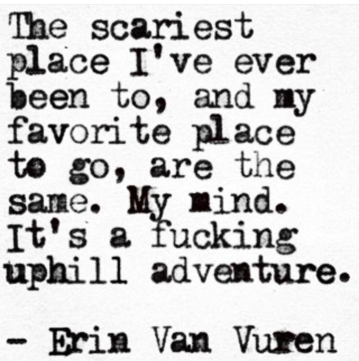 What an amazing way to put it! #Sotrue #ErinVanVuren ❤️ this