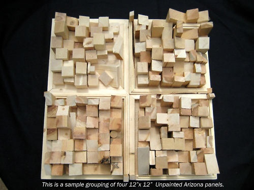 Diffuser City S 1 X 1 Wood Acoustic Sound Diffuser Panel