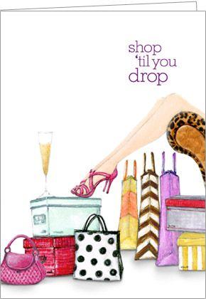 shop until you drop ♥