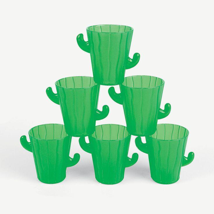 Cactus Shot Glasses - OrientalTrading.com