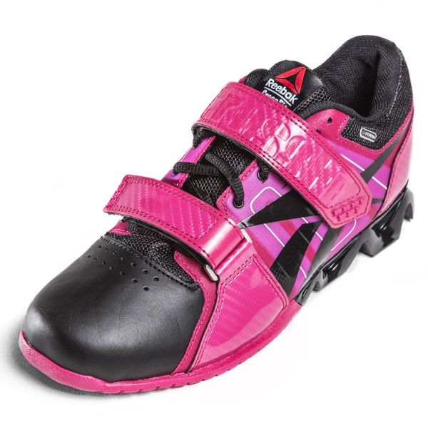 Reebok CrossFit Lifter Plus (Pink/Black) - Womens CrossFit Shoes