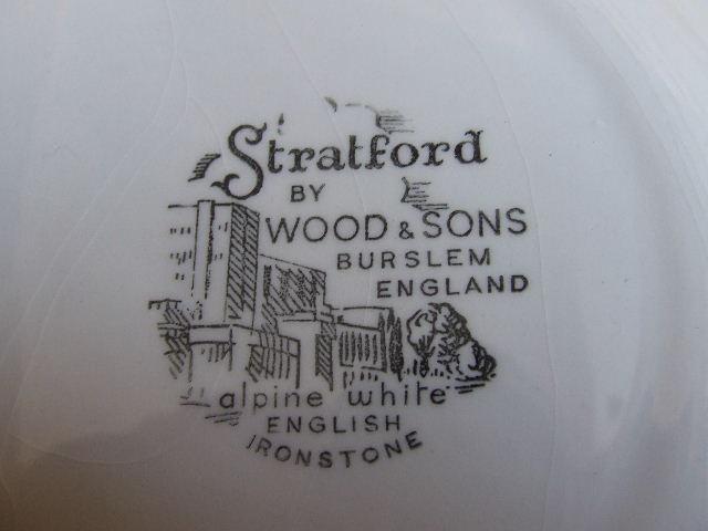 Stratford china marker for british china plate