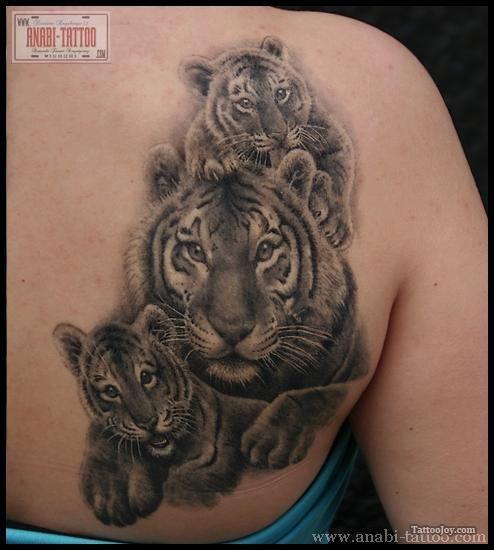 tiger tattoos | Tiger Family Tattoo