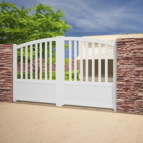 52 best portails aluminium 2 battants images on pinterest budget carpentry and garages. Black Bedroom Furniture Sets. Home Design Ideas