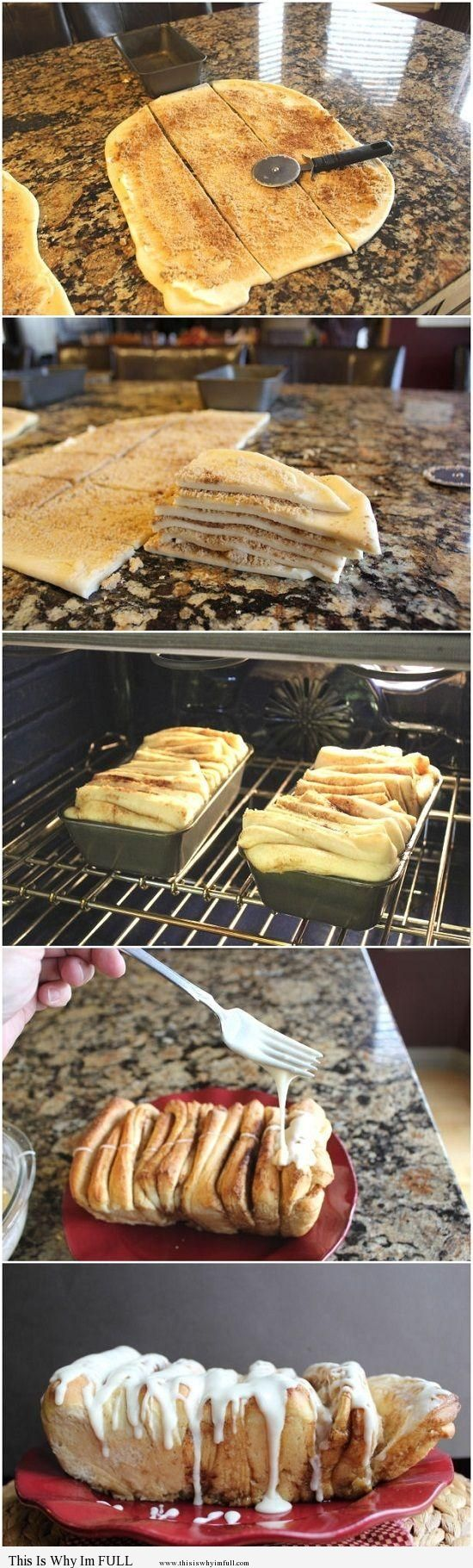 Cinnamon Pull-A-Part Bread - http://www.thisiswhyimfull.com/desserts/cinnamon-pull-a-part-bread-2