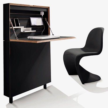 Flatmate Secretary Desk - Blk - alt_image_three