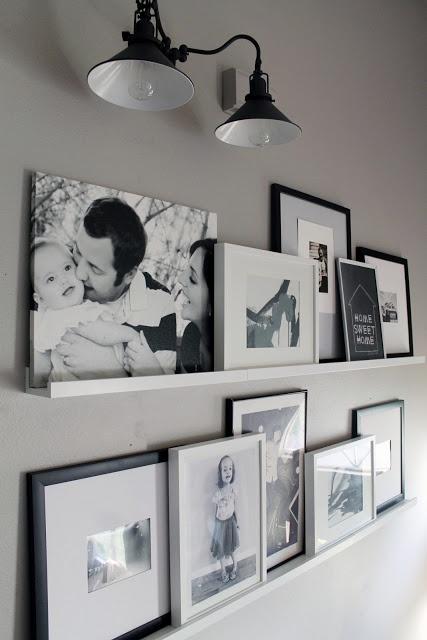 poser tableaux/photos plutôt que trouer tous les murs avec clous X