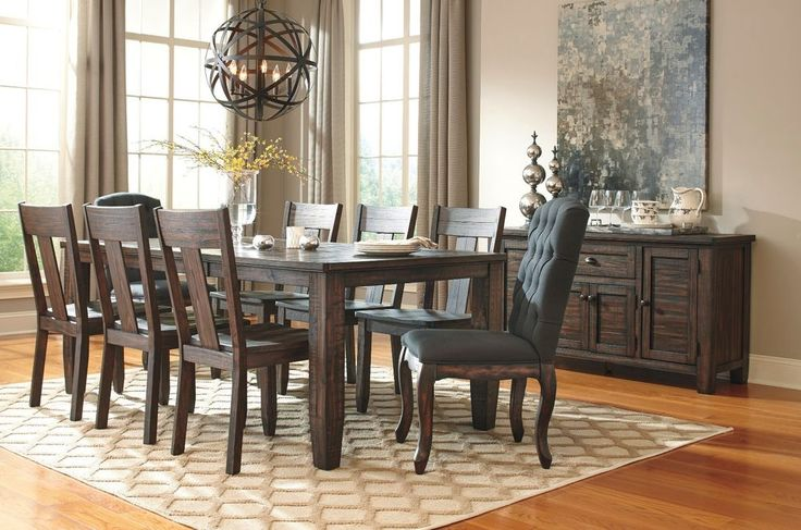Black And Brown Dining Room Sets Delectable Inspiration