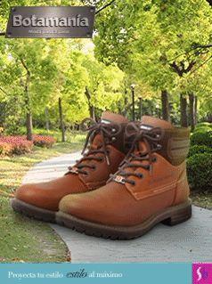 Las botas tipo camper son súper versátiles, úsalas donde quieras gracias a sus suelas resistentes. #Botamanía