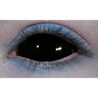 Black Sclera Custom Contact Lens,  Really cheap for a pair