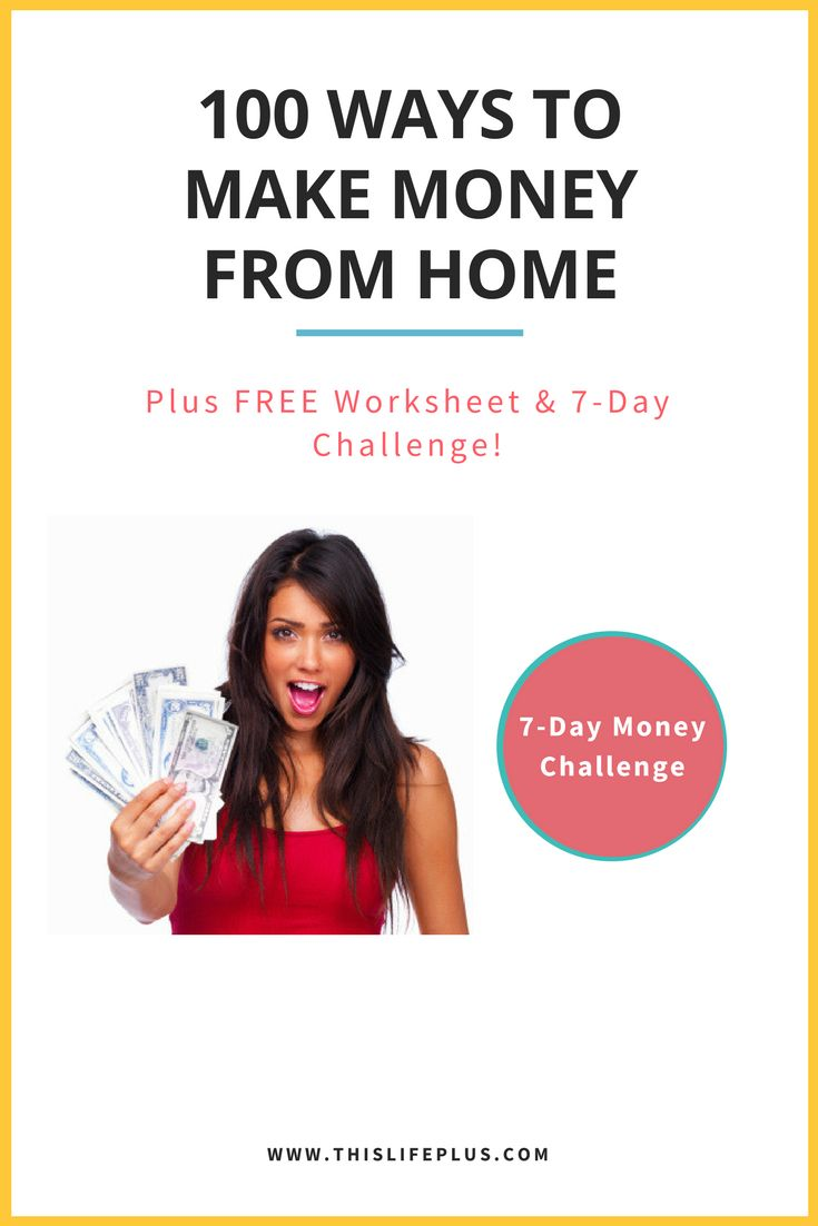 Make Money From Home! Earn £1000 or more from home in the next month with this list of 100 Ways to Make Money Online and Earn Money From Home. Online Income and Side-Hustles are something I love to share because I've made quite an art of it over the last 7 years, now I want to show YOU how to do the same! #makemoney #money #makemoneyonline #makemoneyfromhome #makeextramoney #sidehustle