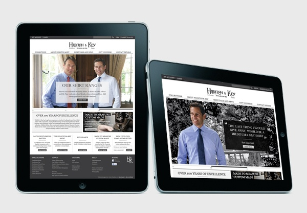 Hilditch and Key eCommerce website design