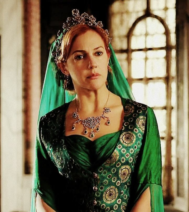 Hürrem Sultan was the favourite and later the chief consort and legal wife of Ottoman Sultan Suleiman the Magnificent