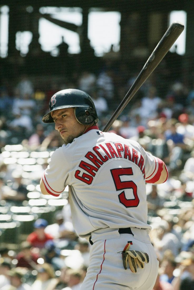 Nomar Garciaparra - He was my favorite as a kid! My first game at Fenway I got his jersey :)