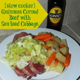 Guinness Corned Beef w/Sauteed Cabbage | Yummy Tips & Recipes | Pinte ...
