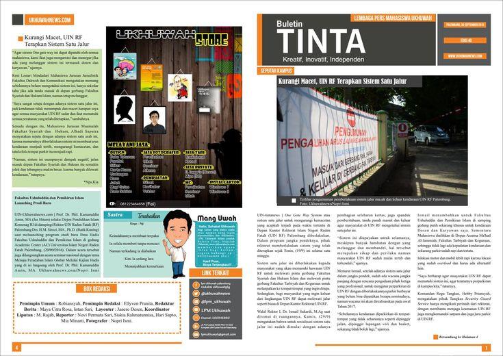 Buletin tinta edisi 40, 30 september 2016