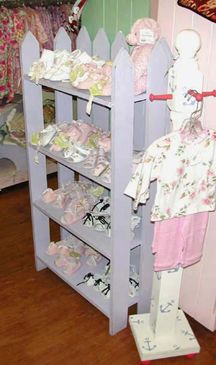 Retail Store Fixtures - Shabby Chic - Display Fixtures - Misc. Display 1