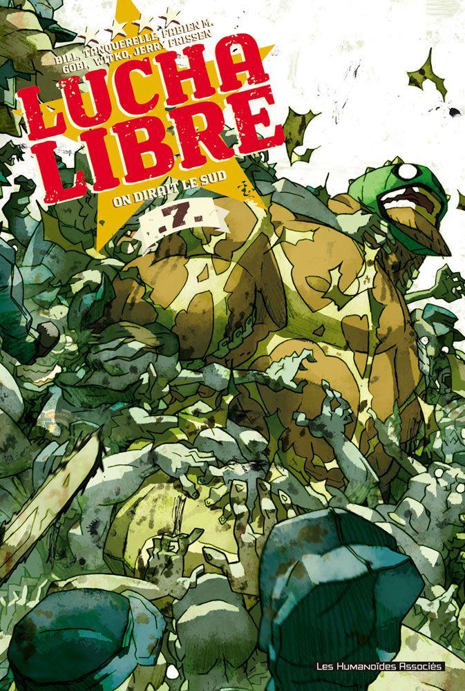 "lucha libre comics | Lucha Libre #7"" Can't Come Soon Enough"